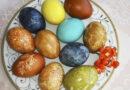 Как красить яйца на Пасху натуральными красителями в 2020 году