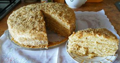 Торт Медовик — самый лучший рецепт со сметанным кремом